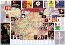 London Fetish Map - Map side